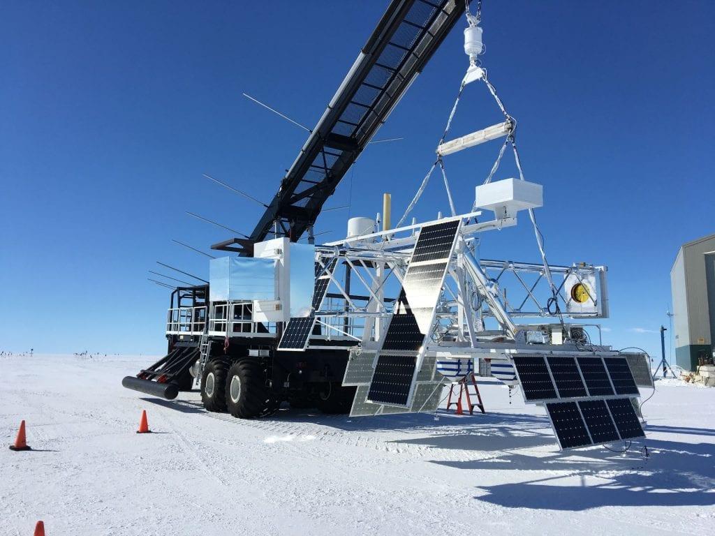 X-Calibur南極周回気球